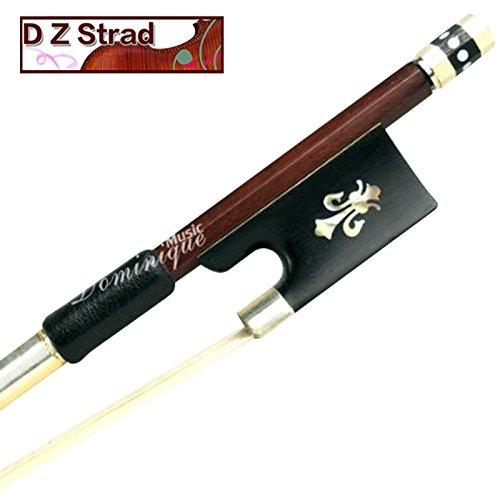 D Z Strad 200 Violin Bow Pernambuco Wood 4/4, Full Size with Ebony Frog by D Z Strad