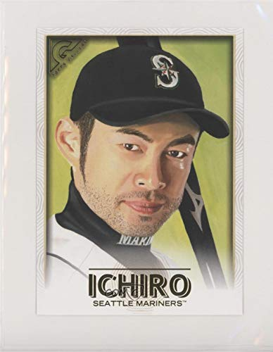(Ichiro Suzuki (Baseball Card) 2018 Topps Gallery - Oversized Box Toppers #OBT-I)