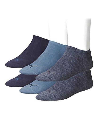 denim Puma Sport blue da 3 Unisex 460 pacco Calzini BEYZnxBqr