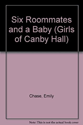 book cover of Six Roommates and a Baby