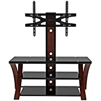 Z-Link ZL43450MXVI TV Stand for 20-Inch to 60-Inch TV, Makena 3-IN-1