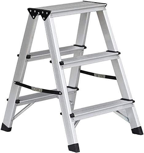 NYDZDM Escalera Plegable hogar heces Grueso Escalera de Aluminio ...