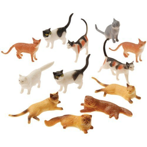 Cat Inch 2 Toy - U.S. Toy Assorted Plastic 2