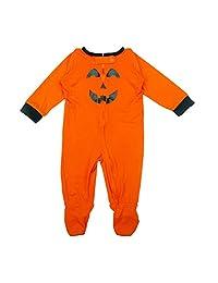 Family Baby Girls Boys Halloween Clothes Smiley Face Rompers Sleepwear Nightwear