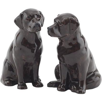 Amazon.com: Quail Ceramics – Chocolate Labrador Sal y ...