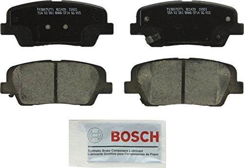 Bosch BC1439 QuietCast Premium Ceramic Rear Disc Brake Pad ()