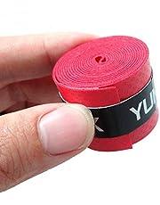 Longspeed 60 Piezas de Mango Original Antideslizante pegajoso Fuerte viscoso Gel de Mano Bat Bat Tape Tape béisbol para Raqueta de bádminton - Aleatorio