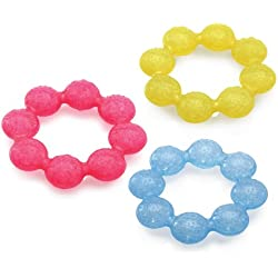 Nuby IcyBite Soother Ring Teether
