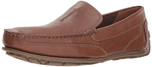 Clarks Men's Benero Race Shoe, tan smooth leather, 13 M US ()