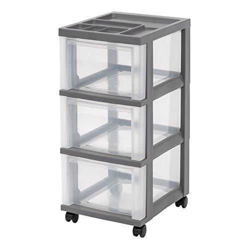 3 storage drawer organizer - 5