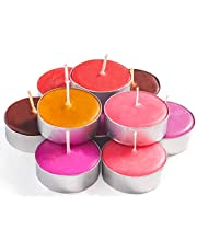 Exquizite Variety Collection Highly Scented Luxury Tealight Candles, Multicolour (Set of 90),EXQSTC90