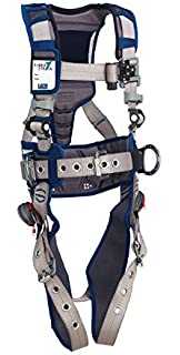 Yellow 3M DBI-SALA 1110990 Delta Universal Back D-Ring with Resist Web and Tongue Buckle Leg Straps