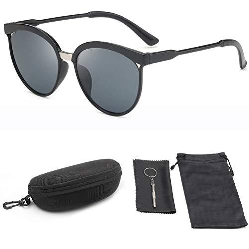 Gazaar Zonnebrillen voor mannen vrouwen, UV400-bescherming Klassieke zonnebril Gepolariseerde zonnebril Mannen Vrouwen…