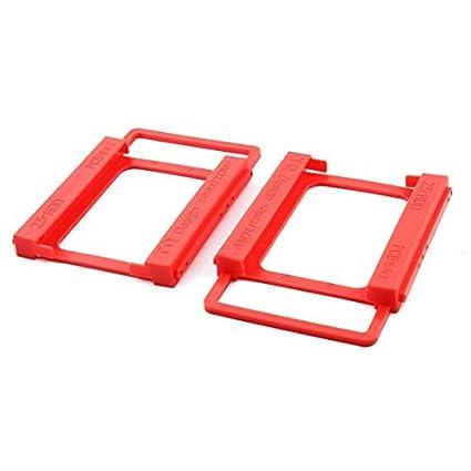 eDealMax plástico del ordenador portátil DE 2,5 pulgadas a 3,5 pulgadas Disco