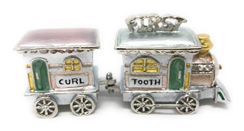 Welforth First Tooth/First Curl Train Trinket Box Model No. - Curl Trinket