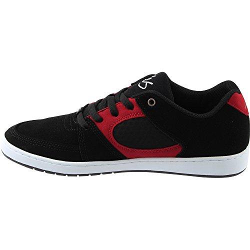 Accel Skate Chaussure De Es Chaussures Noir Homme Blanc Slim Rouge f4txwOBq