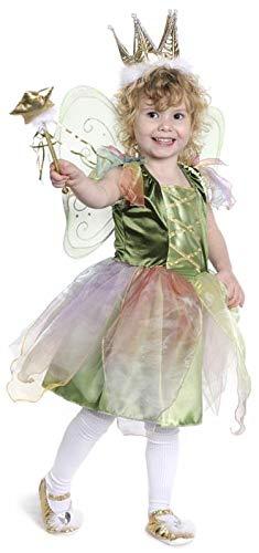 Woodland Fairy Green Dress Child Costume Medium