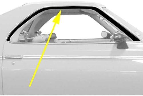 78-87 El Camino Caballero OE Style Rounded Chrome Bead Window Sweeps Set of 4