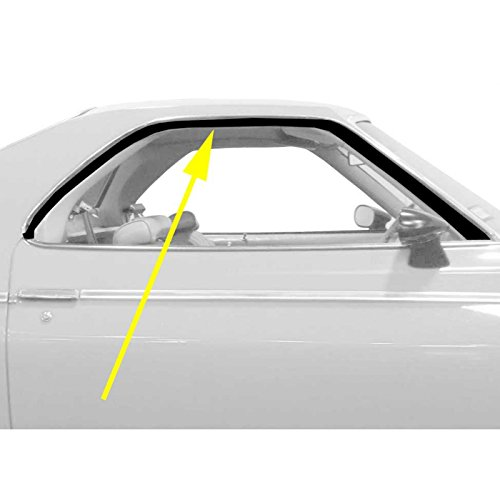 - Eckler's Premier Quality Products 55192768 El Camino Roof Rail Weatherstrip Seals