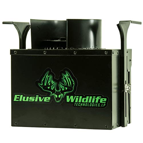 Elusive Wildlife Directional Feeder Control Unit with Timer (Black, Directional Feeder Control Unit with Timer)