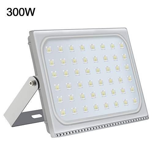 LED Flood Light Outdoor, 300W 24000lumen Cool White 6000K, IP67 Waterproof Super Bright Security Lights, Outdoor Floodlight for Yard, Garden, Playground, Basketball Court [並行輸入品] B07R9RVXNC
