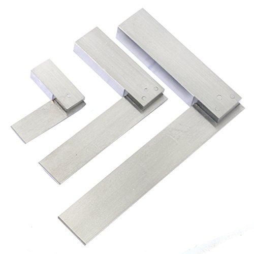YaeTek Machinist Squares 90 Degree Right Angle Engineer's Set- 2'' 4'' 6'' DIN STANDARD 875, Machinist Square Set, 3-PIECE by YaeTek (Image #8)