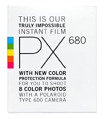 Impossible PRD2441 PX 680 Color Protection Film for 600 Cameras (White)