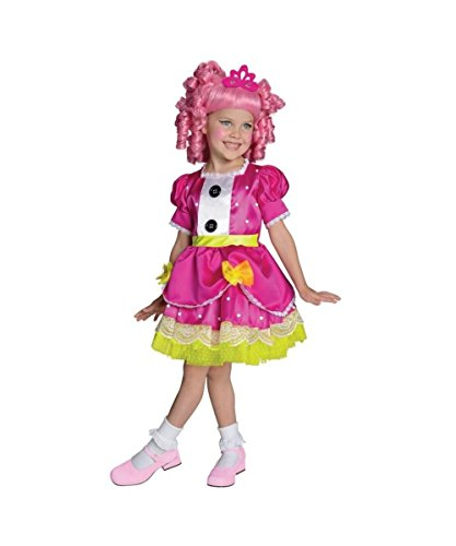 Television Show Halloween Costumes (Lalaloopsy Jewel Sparkles Girls Halloween Tv Show Costume deluxe)