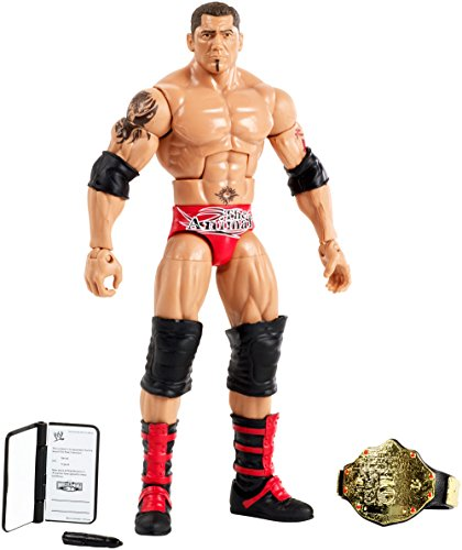 Wrestling WWE Elite Hall of Champions Batista Exclusive Action (Wwe Wrestling Batista)