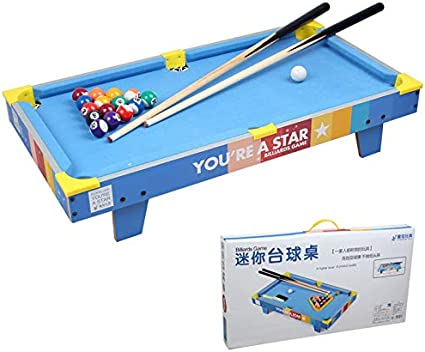 Zgifts Mini Mesa Pool Set-70cm Azul Billar portátil Juego Mesa de Billar Juguete Juegos Hombres Mujeres para niños Adultos Fiesta en casa, Verde: Amazon.es: Deportes y aire libre