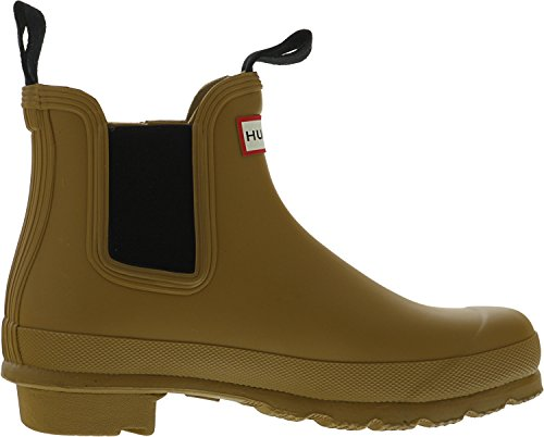 Hunter Womens Original Chelsea Rain Boots Burnt Sulphur hLFGHrftO