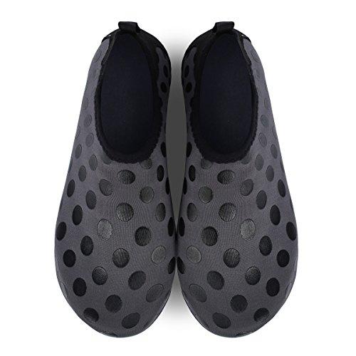 Barefoot Black Water Yoga Aqua Womens Lightweight Dot Beach Swim For Feetcity Mens Shoes 5XFq7nw