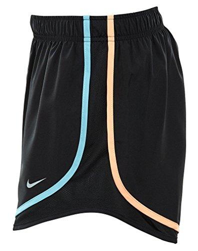 Nike Womens Vochtafvoerende Colorblock Shorts Zwart / Meerkleurig
