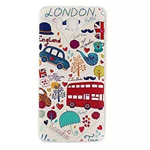 Animation Pattern Soft TPU Case for HTC One by ruishername