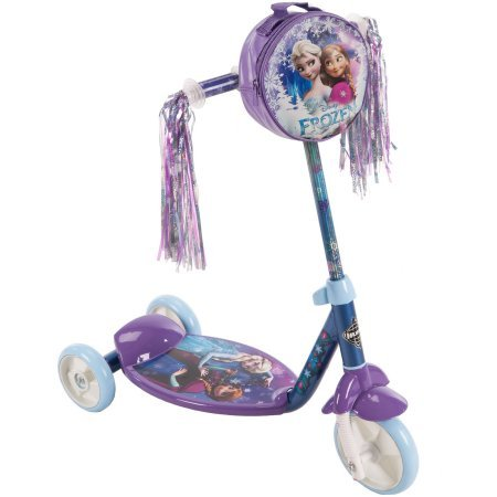 Huffy Disney Frozen Preschool Scooter, Resin Wheels with PVC Tires