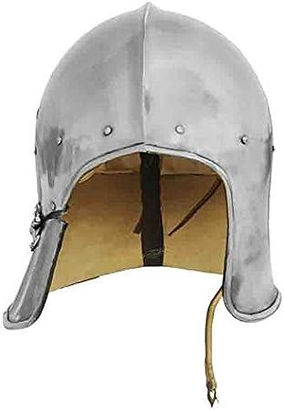 GDFB Celada de Arquero, Celada Medieval, Recreación histórica, Cascos Medievales, Yelmo Medievales, Recreación Cascos