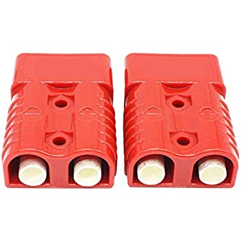 RED X-Haibei Battery Quick Connector Kit 175a Plug Connect Disconnect Winch Trailer 1awg