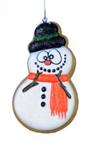 One Hundred 80 Degrees Sugar Cookie Ornament, Choice of Style (Snowman)
