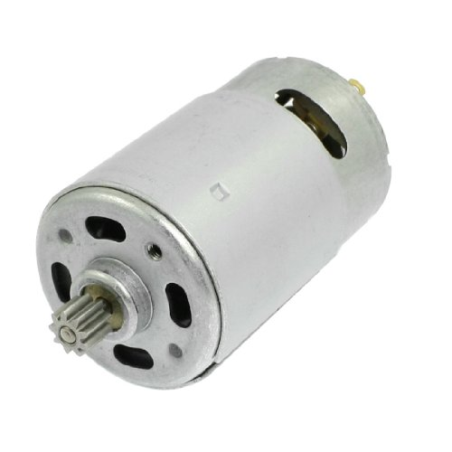 uxcell DC 18V 32000RPM 9 Teeth Shank Gear Motor for Rechargeable Electric Drill