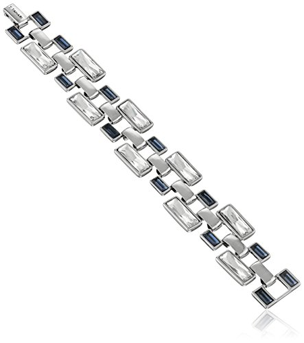 t-tahari-silver-and-mint-alternating-link-bracelet
