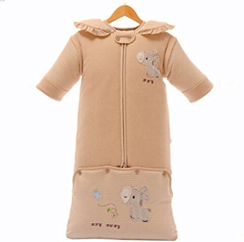 Slumbersac-Saco de dormir para bebé de invierno duro de manga larga algodón, unos 3,5-Saco de dormir para bebés, diseño de asno Extensible hembra para bebé 90 cm de 0-24 meses: Amazon.es: Bebé