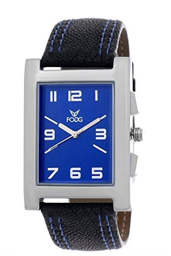 Fogg Analog Blue Dial Men's Watch -1016-BK-BL
