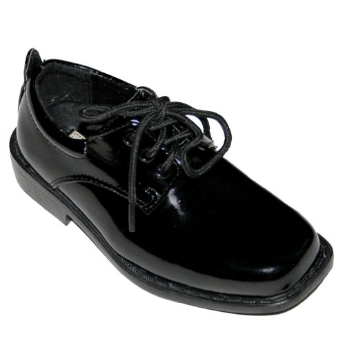 Tip Top, Black Patent Dress Oxford Shoes