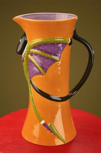 Halloween Patience Brewster Bat Cat Pitcher - Krinkles D�??cor New 08-30607 by Patience - Krinkles Cat