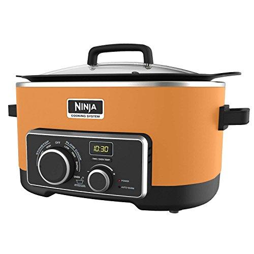 Ninja 6 Quart 3 In 1 Orange Multi-System Slow Cooker (Certified Refurbished) For Sale
