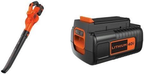 BLACK DECKER LSW40C Lithium Sweeper 40-Volt Battery Pack