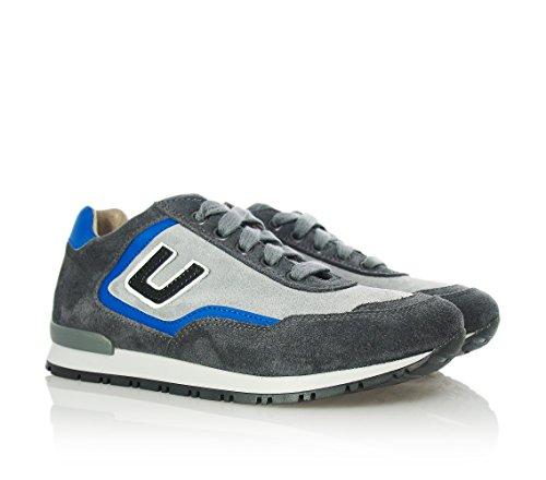 4US - Chaussure de sport grise, garçons,enfant,hommes