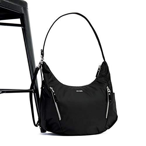 PacSafe Stylsafe anti-theft convertible crossbody bag Messenger Bag, 38 cm, 10 liters, Blue (Navy 606)