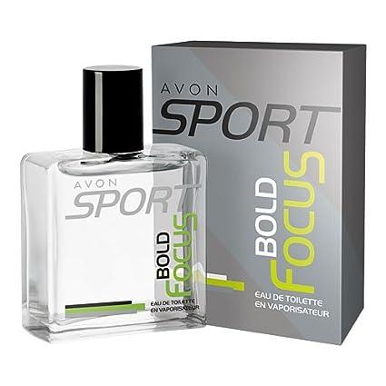 Vaporizador Avon Sport Bold Focus Agua de Colonia