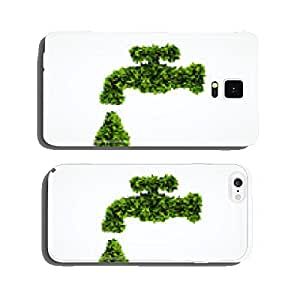 Eco organic water symbol cell phone cover case Samsung S5